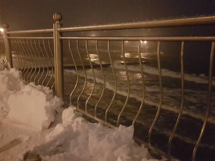 Музей Черепов и Скелетов/Героические съёмки в условиях снегопада в Зеленоградске