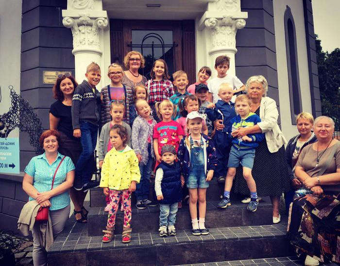 Музей Черепов и Скелетов/МЧС принял участие в благотворительной акции для центра помощи детям