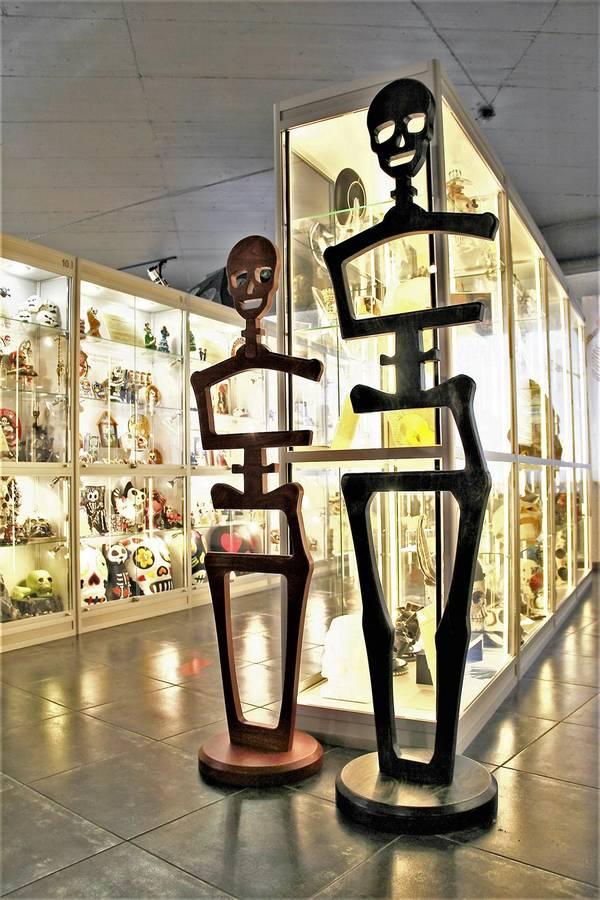 Музей Черепов и Скелетов/Скелет в домашнем интерьере - это модно!