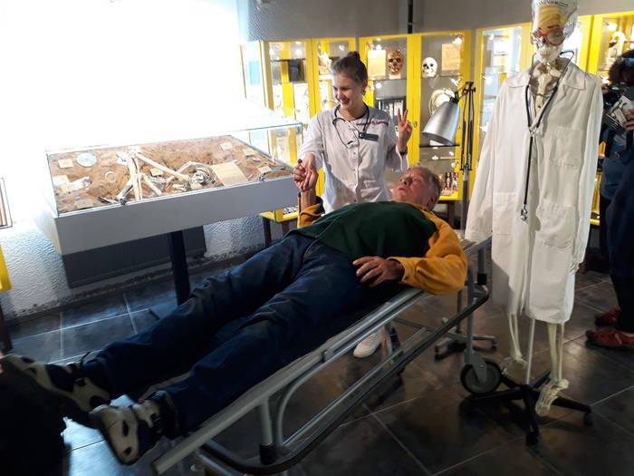 Музей Черепов и Скелетов/Всемирный день музейного селфи в Зеленоградске